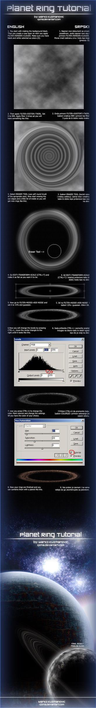Planet Ring Tutorial by Qzma