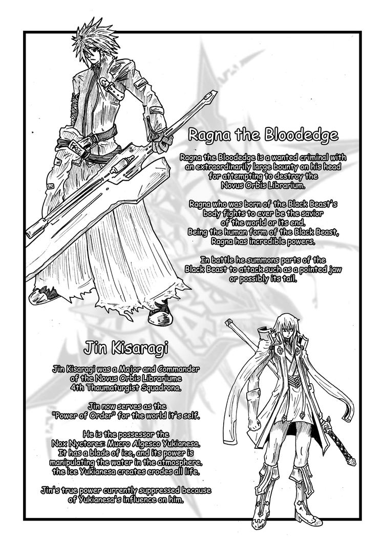 Arc System Vs Type Moon Character Profile Page 1 By Akitoshen On