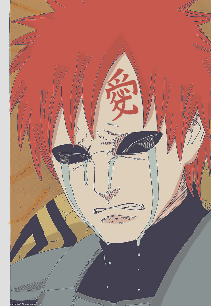 Chap 548 - You were loved 2 by Cammie-972 on DeviantArt Gaara Crying 548