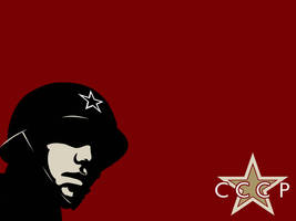 CCCP Soldier by LucifersAdvocate