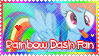 Rainbow Dash Fan by DesuSigMaker