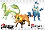 Pokemon GenV Starters