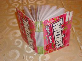 Twizzlers Notebook by roboerin3000
