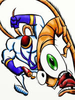 Earthworm jim by EPICamiture2099