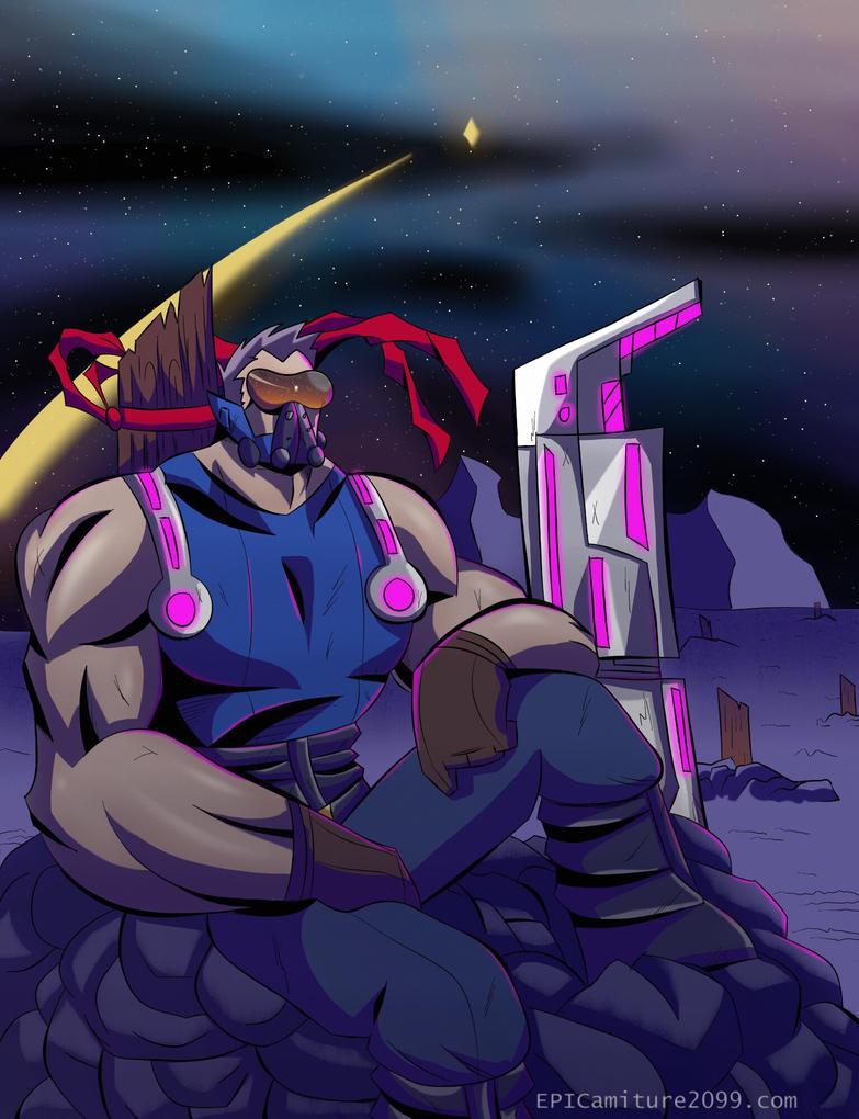 Wondering warrior by EPICamiture2099