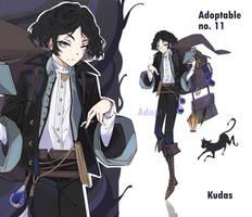 [OPEN] Adoptable auction #11 Mysterious Alchemist by Kudasiha