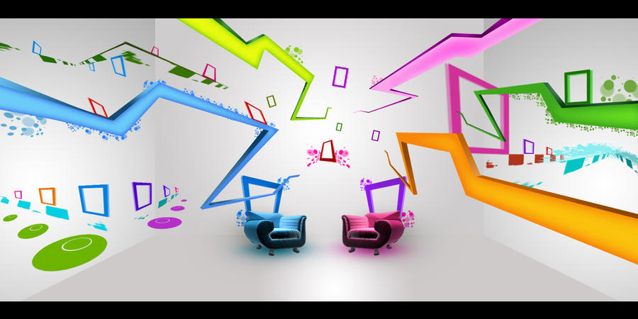 Set design for tv show by dreameyez on deviantart for Craft shows on tv
