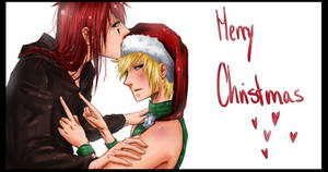 Ax and Rox wishes u a merry Christmas