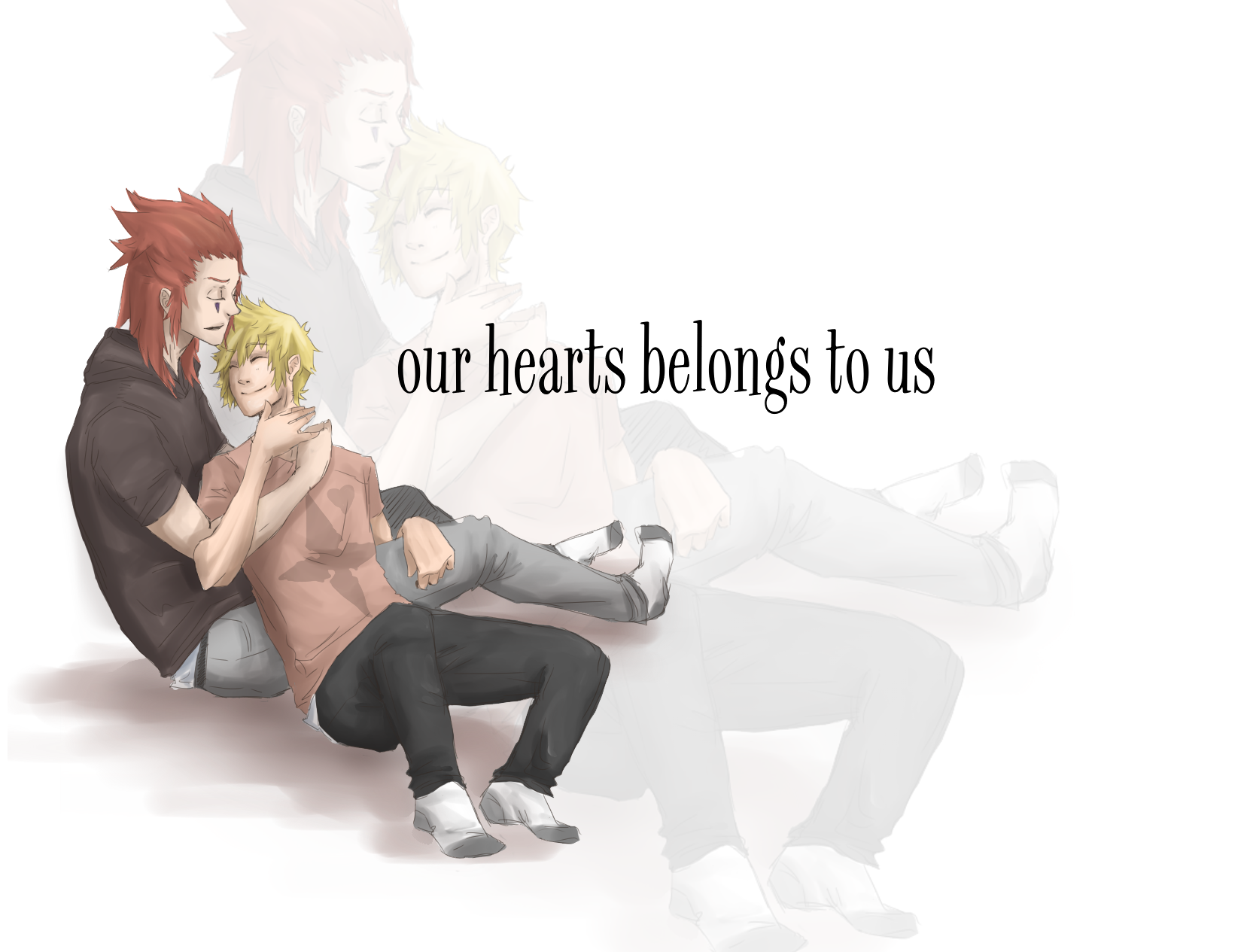Our hearts belongs to us by Gamesoul
