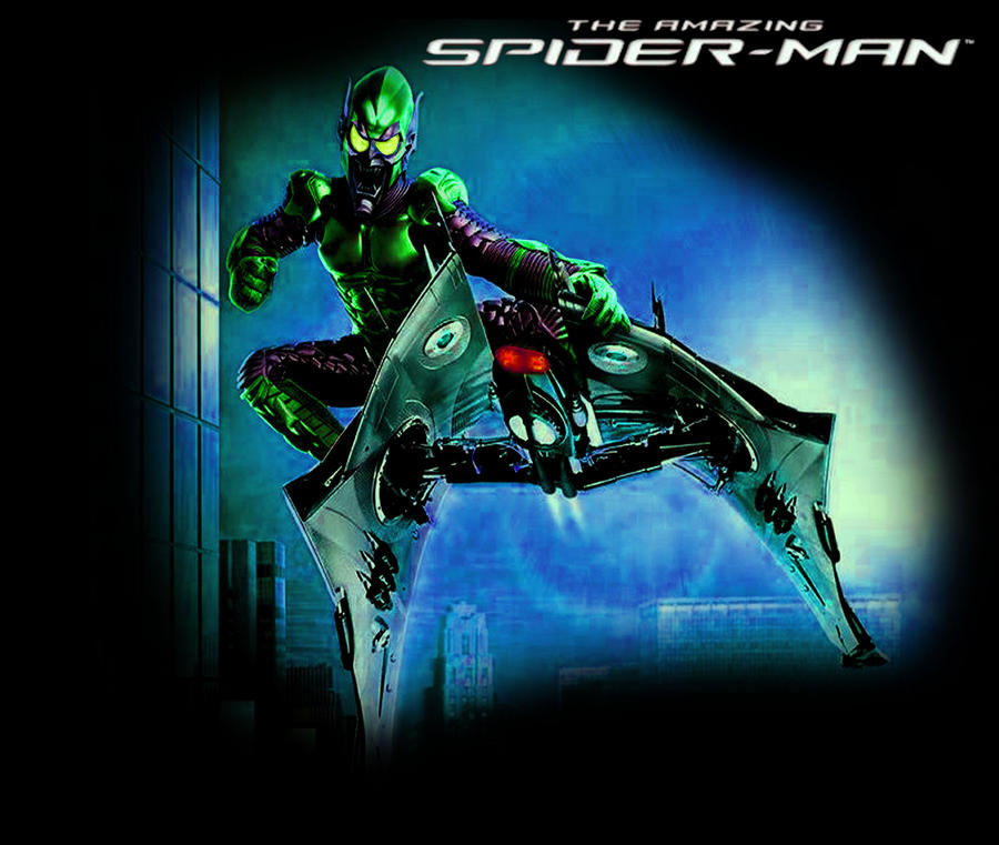 Green Goblin 2014 Suit Remixed Green Goblin C...