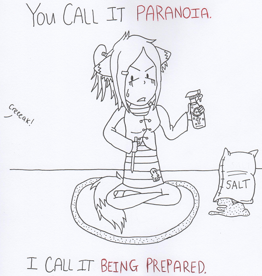 You Call It Paranoia.. by AHiddenShadow