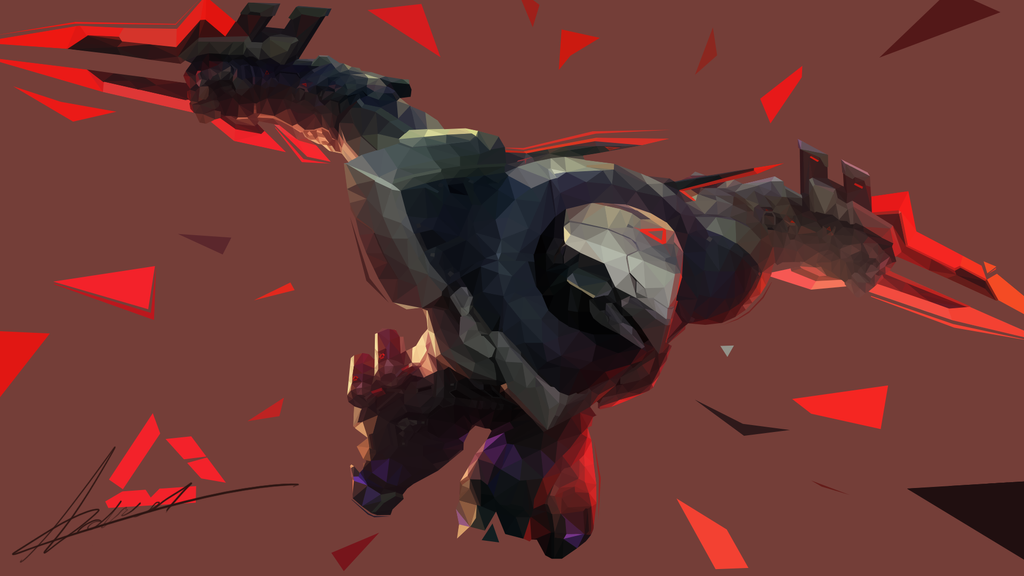 Zed splash art