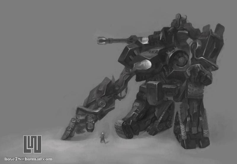BlackRobot by liove