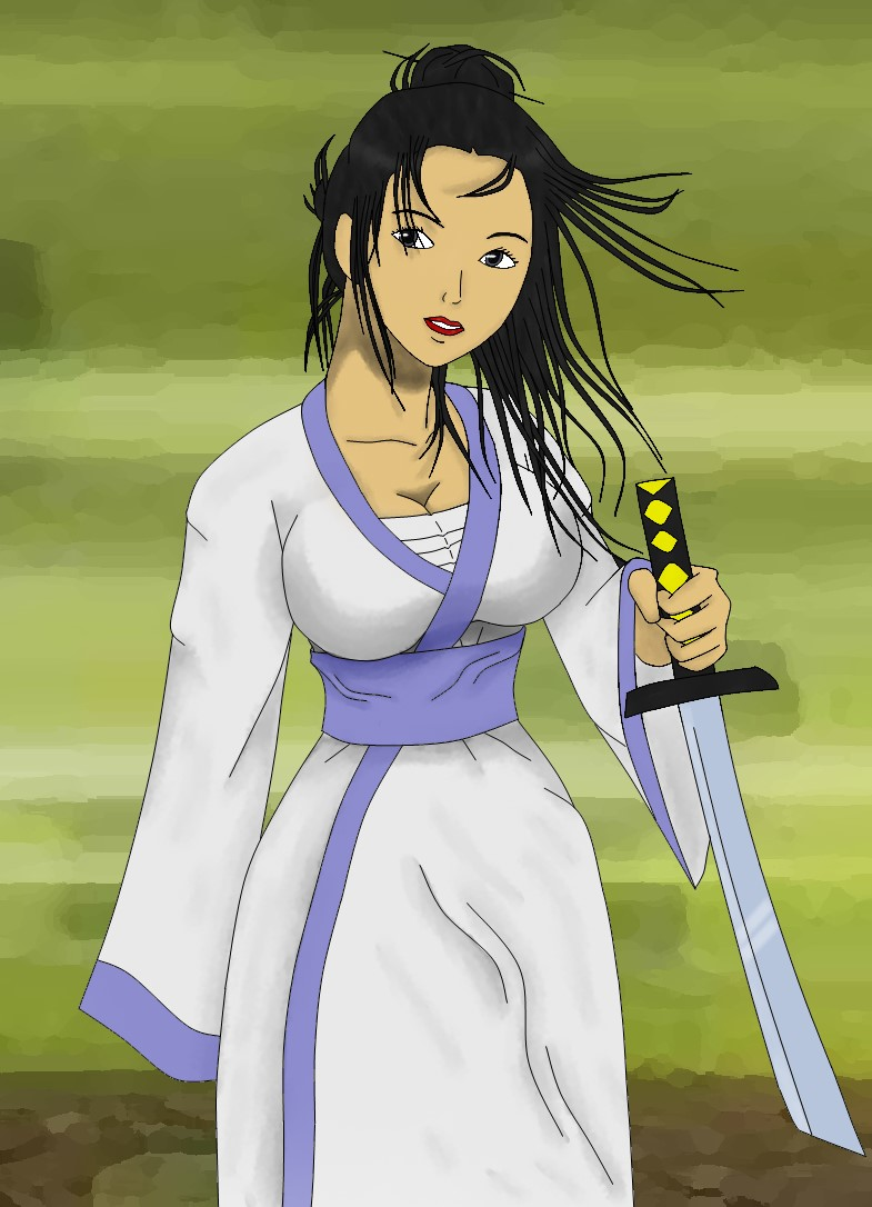 Female Samurai Jack by TheXtra89