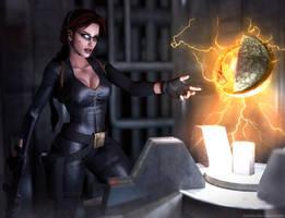 Tomb Raider V-Found the Iris by Larreks