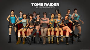 Tomb Raider (Evolution) - 20 YEARS ANNIVERSARY!