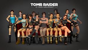 Tomb Raider (Evolution) - 20 YEARS ANNIVERSARY!
