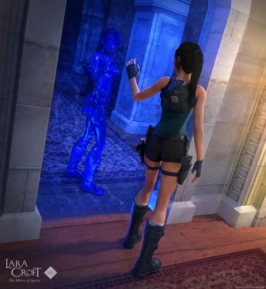 Lara Croft GO - Mirror of spirits by Larreks