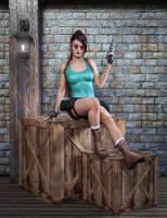 DAZ Lara Croft test