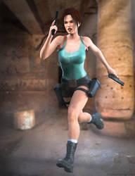 Running Lara