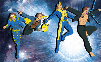 Nate Grey's Evolution by T-Bird1
