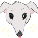Borzoi Amused Emote by LimpWeasel