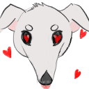 Borzoi Love Emote  by LimpWeasel