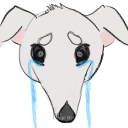 Borzoi Sad Emote by LimpWeasel