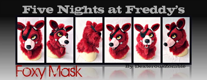 Five Nights at Freddy's Foxy Mask For Sale - SOLD