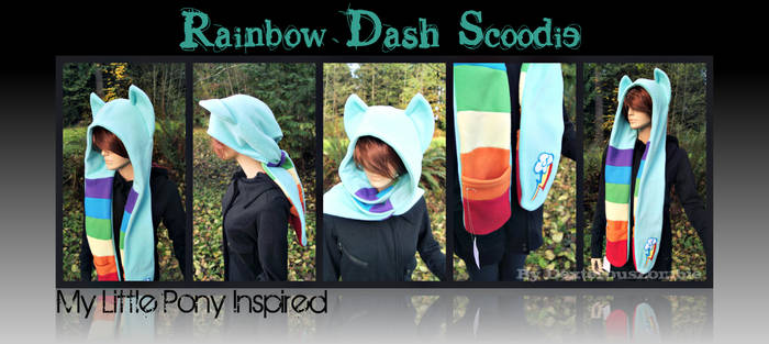 New Rainbow Dash Scoodie For Sale - SOLD