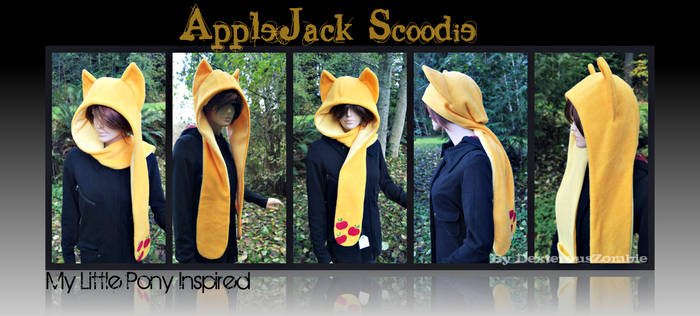 New Applejack Scoodie For Sale