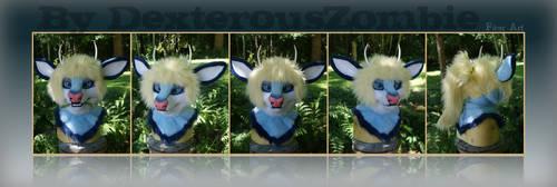 Spirit Mask Commission by DexterousZombie