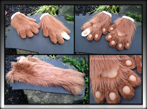 Noll's handpaws and armsleeves - CMSH