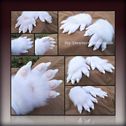 Ginny Handpaws - Commission