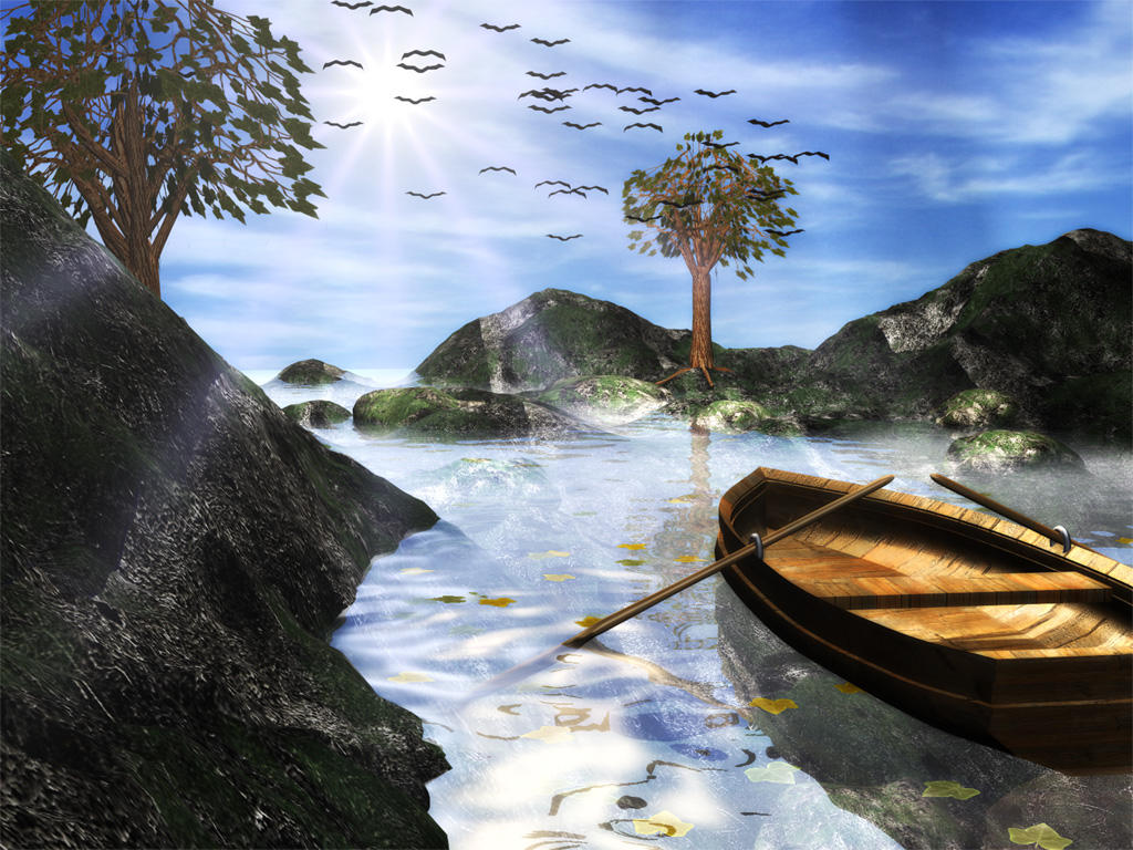 Silent Landscape by zodiac-gemini