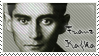 Franz Kafka Stamp by Lukrietz
