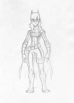 Stephanie Brown- Batgirl- Sketch