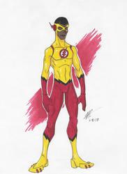 Wallace West- Kid Flash