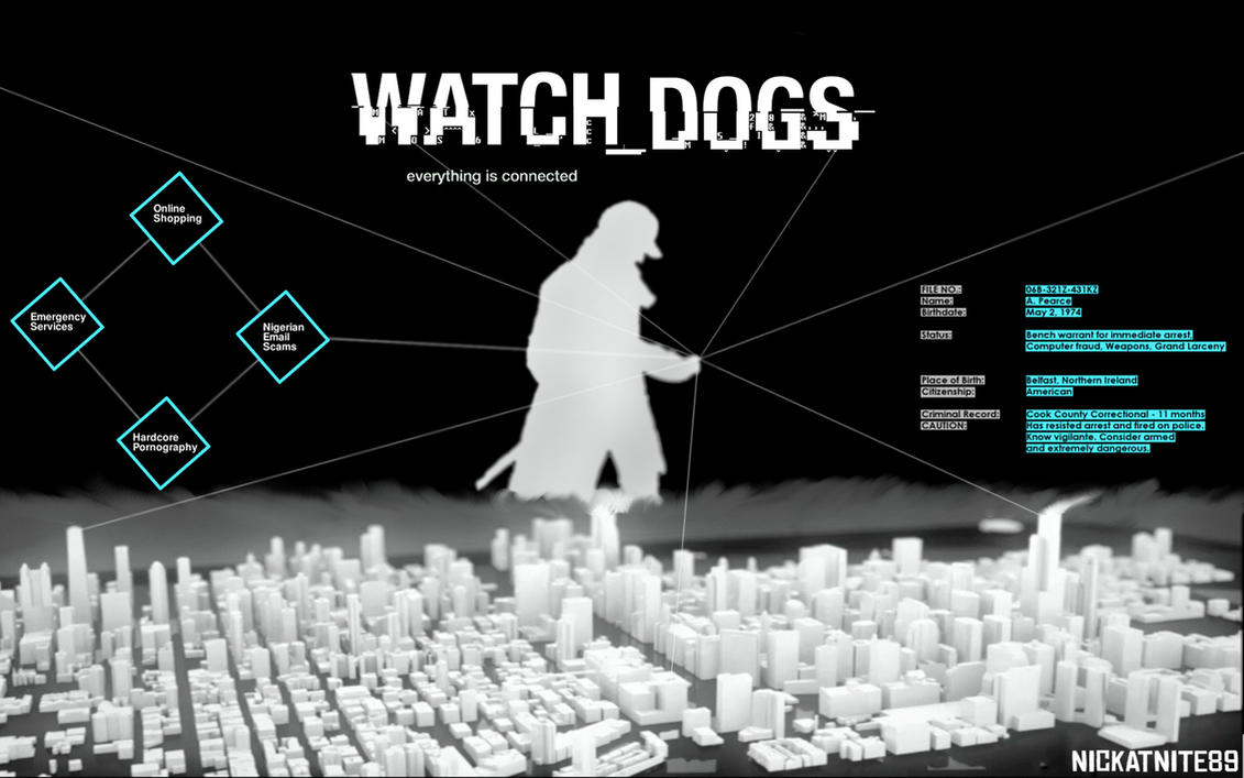 Watch Dogs - Wallpaper by NickatNite89