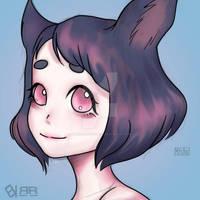 [Mishu] [HeadShot] Chibi color by BlackBriotStudios