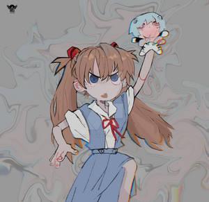 [Daaglas] [FAN ART] Little Asuka