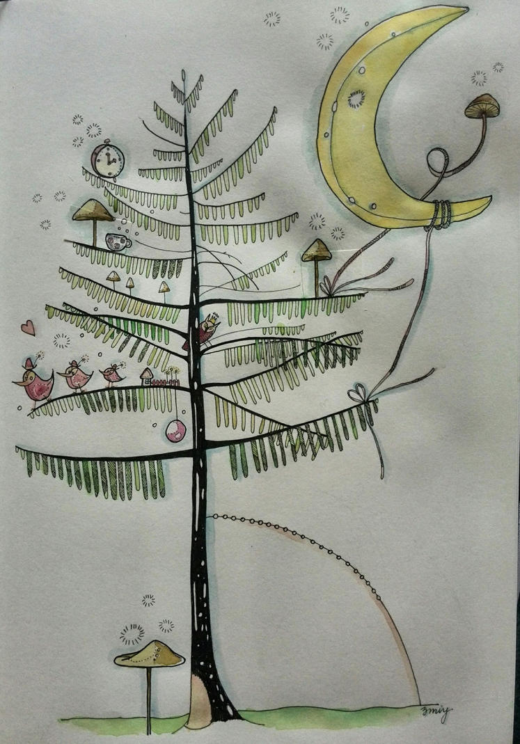 The tree by mimmy1602
