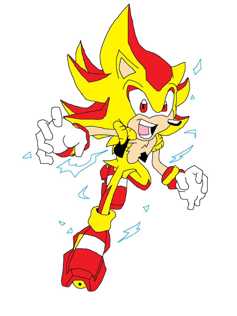 Super Shadic the Hedgehog inspired by KingHedgehog by ...