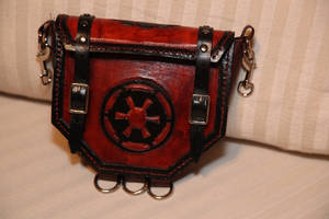 Custom Piece: Star Wars Sith Pouch/Satchel/Purse by AverusX