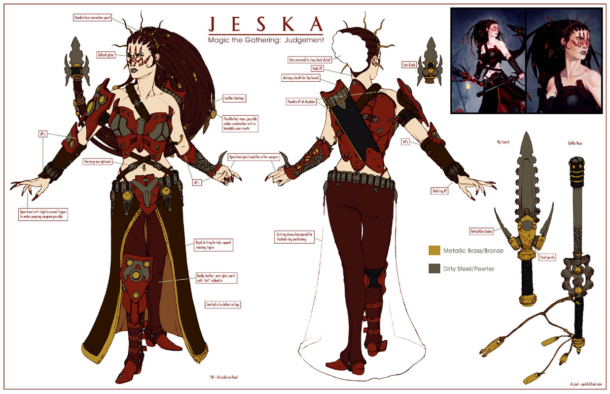 Jesk Toy Concept by postrk