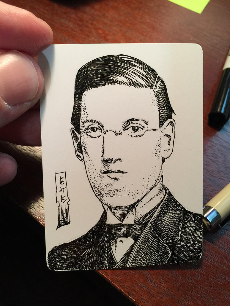 HP Lovecraft by postrk