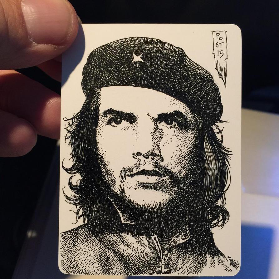 Che Guevara by postrk