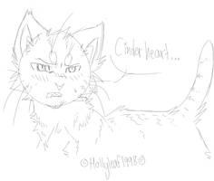 Awkward Lionblaze by NonsensicalLogic