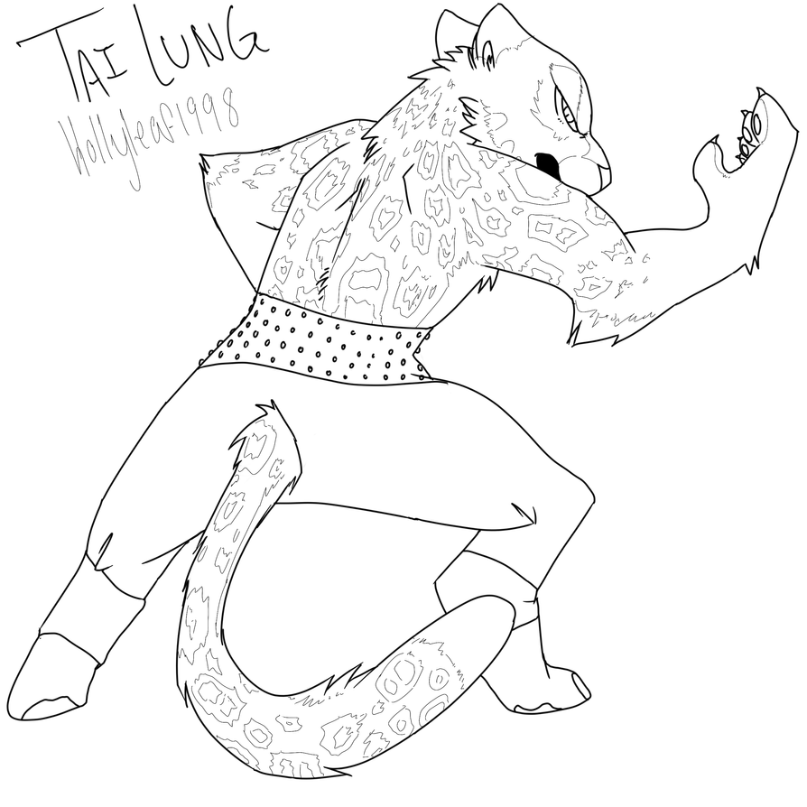 Tai Lung Sketch by NonsensicalLogic on DeviantArt