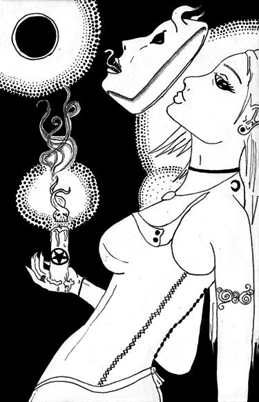 Alchemist Eclipse by NoneMayHaveHer
